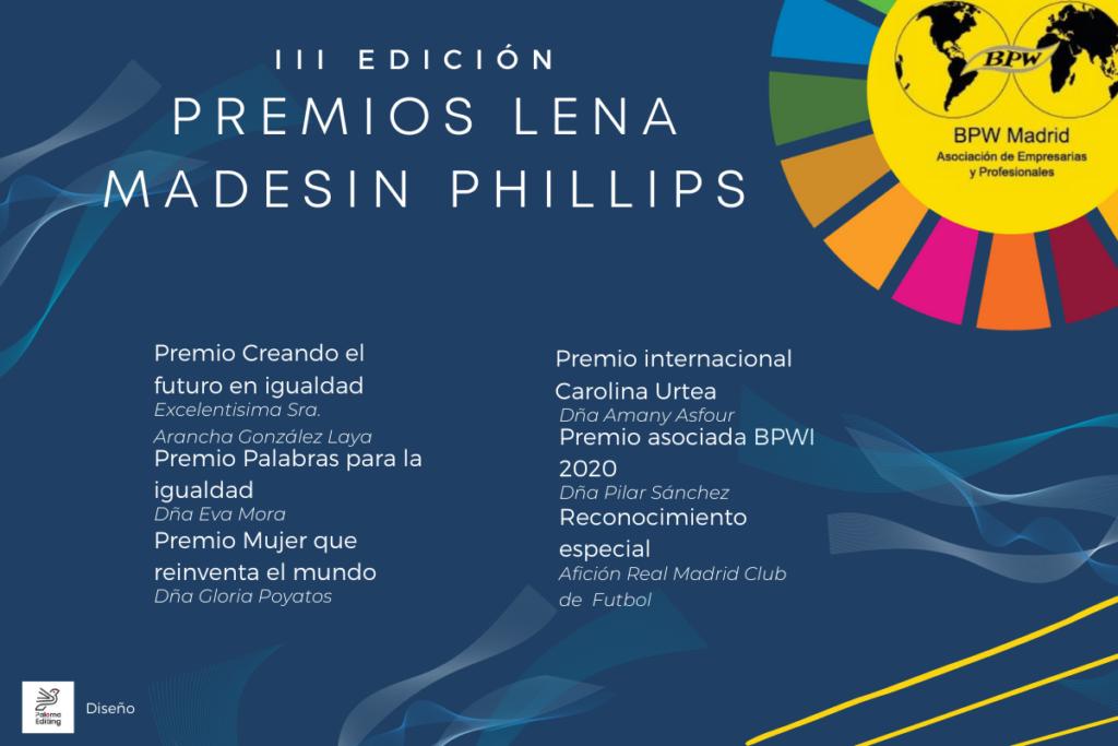 ENTREGA DE III EDICIÓN PREMIOS LENA MADESIN PHILLIPS