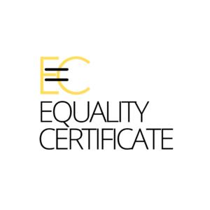 Equality certificate, certificado oficial para las empresas y entidades con sello de igualdad